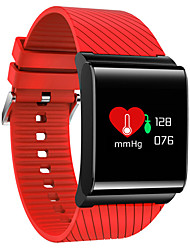 cheap -Smart Watch Touch Screen Heart Rate Monitor Calories Burned Pedometers Exercise Record Distance Tracking Information Anti-lost APP