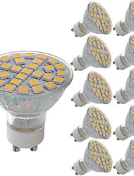 5W GU10 LED Spotlight MR11 29 SMD 5050 380 lm Warm White Cold White 3000-6500 K Decorative AC 220-240 V