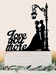 Decorazioni torte Alta qualità Matrimonio Compleanno Matrimonio Compleanno Bustina PVC
