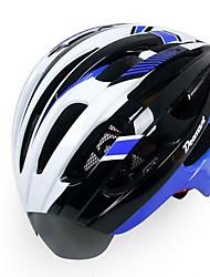 Недорогие -Универсальные Велоспорт шлем Вентиляционные клапаны Велоспорт Горные велосипеды Шоссейные велосипеды Велосипедный спорт Стандартный размер