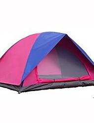 2 persone Tenda Doppio Tenda da campeggio Una camera Tenda ripiegabile Ompermeabile Asciugatura rapida Anti-pioggia Ripiegabile Tenda per