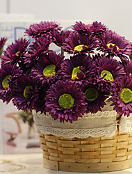cheap -10 Branch Silk Pastoralism  Little Daisy Home Decoration Artificial Flowers