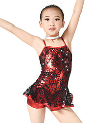 MiDee Children Dance Dancewear Kids' Jazz Costume Cheering Dancewear Kids' Activities Dance Outfits