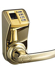 cheap -ADEL Easy To Install Single Lock Tongue Fingerprint Password Mechanical Lock -3398 Gold Edition