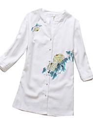 Blusa/Camisa Lolita Clássica e Tradicional Lolita Cosplay Vestidos Lolita Estampado Manga Curta Lolita Blusa Para Tecido de Algodão