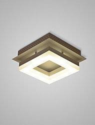 cheap -Modern / Contemporary Flush Mount Ambient Light - LED, 110-120V 220-240V, Warm White White, LED Light Source Included