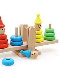 Building Blocks Stacking Games Toys Square Tower Kid Pieces