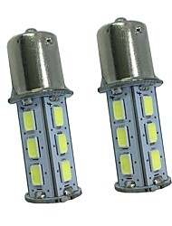 2PCS 5W white DC12v 1156 1157 18led 5730SMD Auto Lamps Car Turn Signal Lights High Quality BAY15D