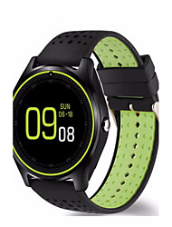 cheap -Bluetooth Smart Watch V9 With Camera Smartwatch Pedometer Health Sport MP3 Clock Hours Men Women Smartwatch For Android