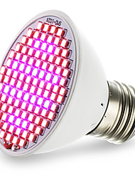 E27 LED Grow Lights 106 SMD 3528 2500-3000 lm Red Blue K AC85-265 V
