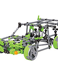 cheap -Display Model Building Blocks Educational Toy DIY Car Motorcycle Bicycle Children's Gift
