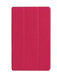 economico -Per custodia per copertina copertura in alluminio trasparente di origami caso solido in pelle solida per asus z380c / kl
