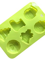 1 Piece Cake Molds For Ice Bread Cake Silica Gel Baking Tool