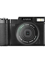 Andoer r1 1080p 15 fps full hd 24mp câmara digital cam câmara de vídeo 3.0 rotativo lcd tela anti-vibração 4x zoom digital lanterna