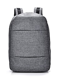 cheap -Unisex Bags Canvas Laptop Bag for Casual Sports Outdoor Office & Career Fitness All Seasons Black Gray