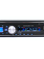 12V Car Audio Radio Stereo 10m Transmit Distance FM Bluetooth V2.0 USB SD Mp3 Player AUX Mic Hands-free with Remote Control