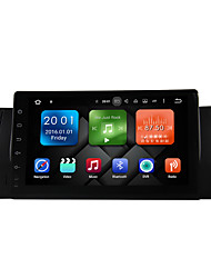 abordables -9 pulgadas quad core android 6.0.1 coche multimedia audio gps sistema reproductor 2gb ram construido en wifi&3g DAB ex-TV para BMW E39