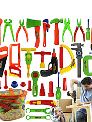 32-project Repair Tools Toy Set Pretend Play Plastic Classic Gardening Tool Toy Instruments Toy Kit Tools for Kids