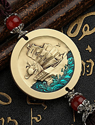 cheap -DIY Auto Pendants Enamel High Embossed Car Ornaments Decorated Gifts Healthy Lucky Car Pendant & Ornaments Pure Copper