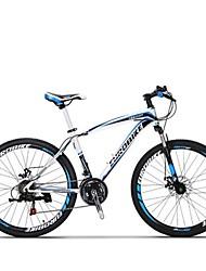 Mountain Bike Cycling 21 Speed 27 Inch SHIMANO TX30 Disc Brake Suspension Fork Steel Frame Carbon Anti-slip Aluminum Alloy Carbon Steel
