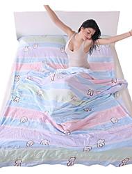 Fengtu Saco de dormir Liner Retangular 25°C Acampar e Caminhar Portátil Á Prova-de-Pó Dobrável Descanso em Viagens 205X120 Acampar e
