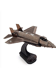 DIY KIT Jigsaw Puzzle Metal Puzzles Toys Aircraft Fighter 3D DIY Furnishing Articles Not Specified Pieces