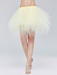 Slips Tulle Netting Short-Length Skirts Simple With Wedding Accessories