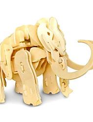 Недорогие -3D пазлы Слон Животные деревянный Дерево Детские Девочки Мальчики Подарок