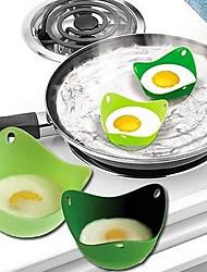 cheap -2 Pcs Eggcellent Poacher Colorful Non-stick Silicone Egg Cookware Pod Cup