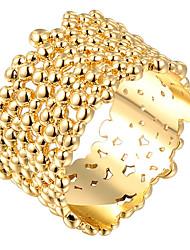 Settings Ring Band Ring  Luxury Women's Euramerican Bark Style Party Graduation Engagement Birthday  Movie Gift Jewelry