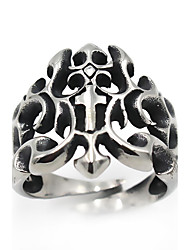 Men's Women's Jewelry Vintage Gothic Costume Jewelry Stainless Steel Flower Jewelry For Daily Casual