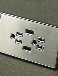 Sorties électriques PP Avec prise USB Charger 12*7*4.4