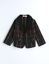 Boys' Houndstooth Suit & Blazer,Cotton Spring Fall Long Sleeve