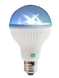 cheap -1W E27 LED Globe Bulbs 6 leds SMD RGB 100-150lm 2800-3200/6000-6500K AC 85-265V