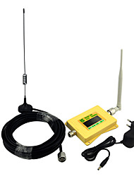 Mini Intelligent DCS980 Mobile phone Signal Booster DCS 1800mhz Signal Repeater with Omni Antenna / Sucker Antenna / Full Set / Yellow