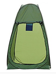 cheap -LINGNIU® 1 person Tent Single Camping Tent Two Rooms Outdoor Pop up tent Keep Warm Waterproof Rain-Proof Sun Protection Sunscreen for