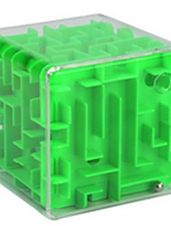 cheap -Maze & Sequential Puzzles 3D Maze Puzzle Box Toys Square ABS Pieces Unisex Gift
