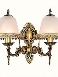 baratos -Vintage Luminárias de parede Para Vidro Luz de parede 220V 12W