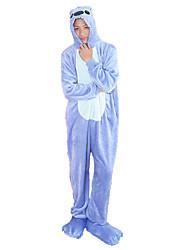 Kigurumi Pajamas Frog Bear Panda Leotard/Onesie Festival/Holiday Animal Sleepwear Halloween Black/White Rose Yellow Green BlueFashion