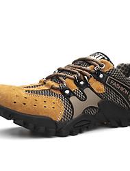 Da uomo scarpe da ginnastica Comoda Estate Autunno Tulle Escursionismo Piatto Grigio Marrone chiaro Piatto