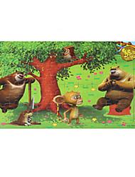 Недорогие -Пазлы Деревянные пазлы Обучающая игрушка Птица Фрукт Другое Дерево Аниме Мультяшная тематика Универсальные Подарок