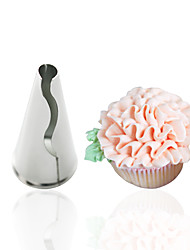 cheap -1pc New Creative Icing piping nozzle Set Pastry Cookie Maker Fondant Cake Decorating Tools Cream Cupcake