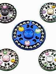 Spinner à main Jouets Rond Aluminum Alloy EDC Soulagement de stress et l'anxiété Haut débit