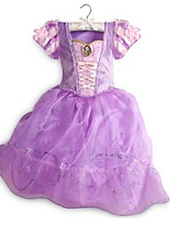 cheap -Princess Fairytale Cosplay One Piece Dress Kids Girls' Halloween Carnival Festival / Holiday Halloween Costumes Purple Vintage
