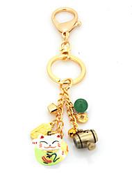 Сумка / телефон / брелок шарм кошка звон колокол мультфильм игрушка медь металл