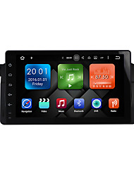 abordables -9 pulgadas quad core android 6.0.1 coche multimedia audio gps sistema reproductor 2gb ram wifi&3g DAB ex-TV para BMW E46 dy9003