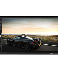 7018b 2 din bluetooth auto rádio video autoradio fm aux us sd hd touch screen am rds music movie player