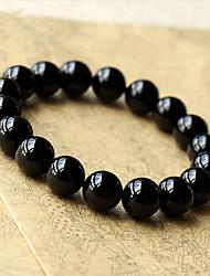 cheap -Men's Women's Leather Leather Bracelet - Fashion Geometric Black Bracelet For Wedding Party