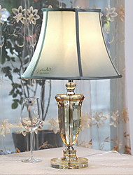 cheap -Tiffany Crystal Table Lamp For Metal 220-240V Transparent