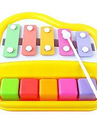 Недорогие -Ксилофон Игрушечные музыкальные инструменты Игрушки Веселье Прямоугольный Квадратный Музыкальные инструменты Пластик Жесткие пластиковые
